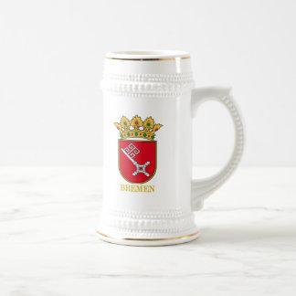 Bremen COA Beer Stein