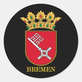 Bremen COA Classic Round Sticker