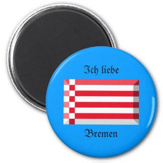 Bremen Flag Gem Magnet