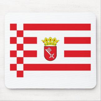 Bremen Flag Mousepad