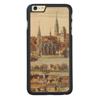 Bremen, Germany, 1719 Carved Maple iPhone 6 Plus Case