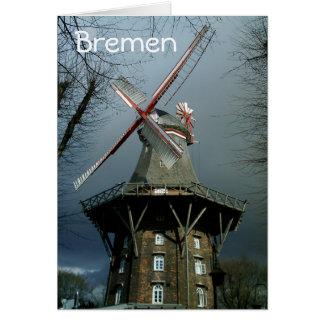 Bremen Windmill Card