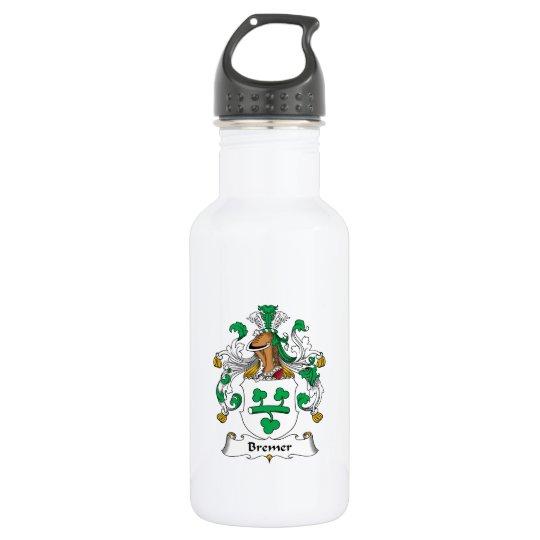 Bremer Family Crest 532 Ml Water Bottle