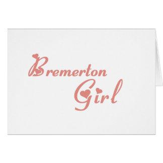 Bremerton Girl tee shirts Cards