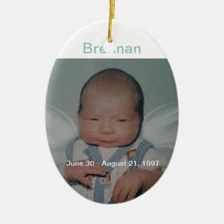 Brennan Christmas Ornament