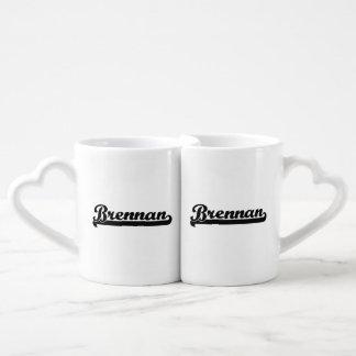 Brennan Classic Retro Name Design Lovers Mug