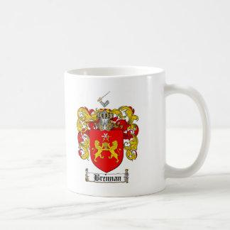BRENNAN FAMILY CREST -  BRENNAN COAT OF ARMS COFFEE MUG