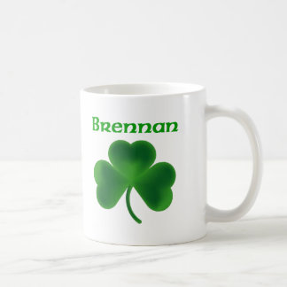 Brennan Shamrock Coffee Mug