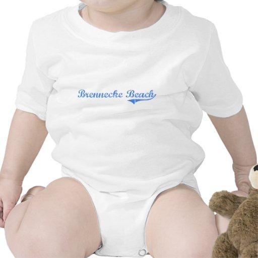 Brennecke Beach Hawaii Classic Design Tee Shirts