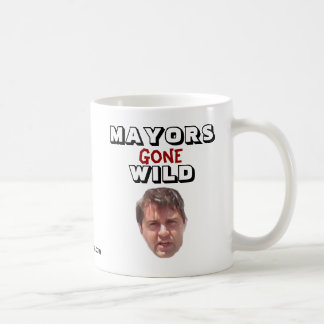 Brent Warr - Mayors Gone Wild Basic White Mug