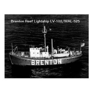 Brenton Reef Lightship LV-102/WAL-525 Postcards