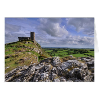 Brentor Church, Dartmoor National Park Card