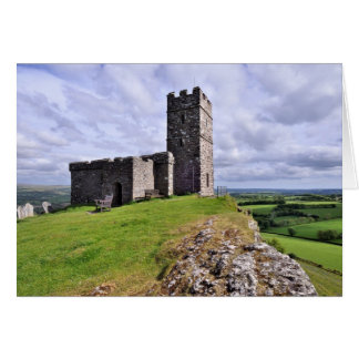 Brentor Church, Dartmoor National Park Card