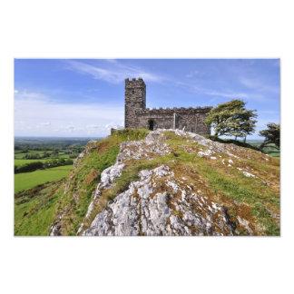 Brentor Church Dartmoor National Park - Devon Photo Art