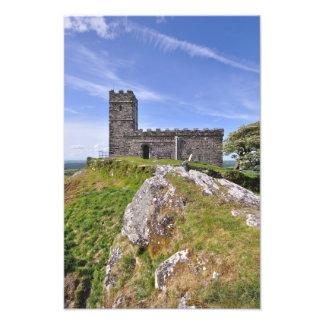 Brentor Church Dartmoor National Park - Devon Art Photo