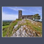 Brentor Church, Dartmoor National Park - Devon Postcard