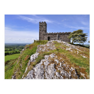 Brentor Church, Dartmoor National Park - Devon Postcard