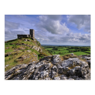 Brentor Church, Devon Postcard