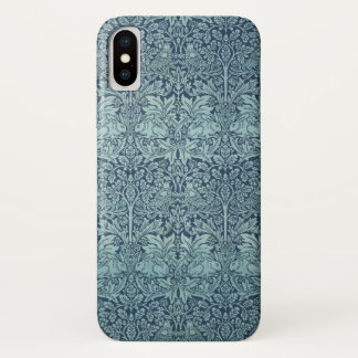 Brer Rabbit by William Morris, Textile Pattern iPhone X Case