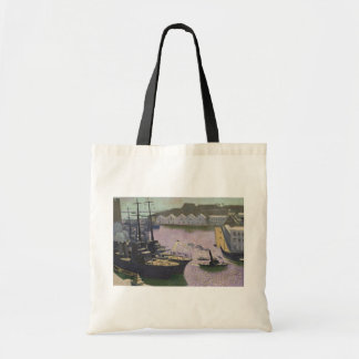Brest Port, c.1932 Budget Tote Bag