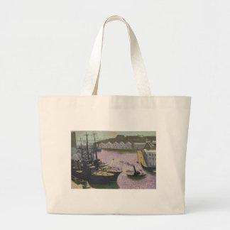 Brest Port, c.1932 Jumbo Tote Bag