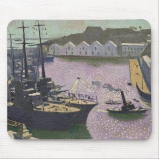 Brest Port, c.1932 Mouse Mat