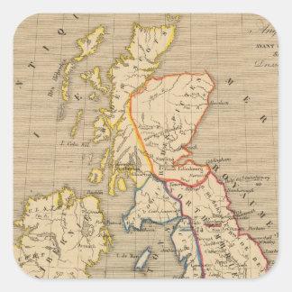 Bretagne Anglo Saxonne, 800 ans apres JC Square Sticker