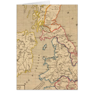 Bretagne apres l'invasion des Saxons Card
