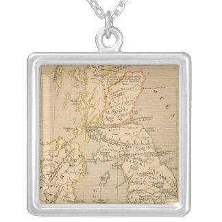 Bretagne Romaine sous Honoriust Silver Plated Necklace