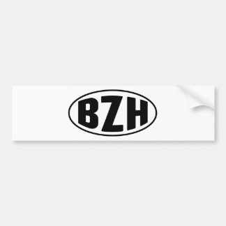 Breton BZH Brittany Breizh Bumper Sticker