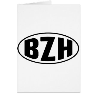Breton BZH Brittany Breizh Card
