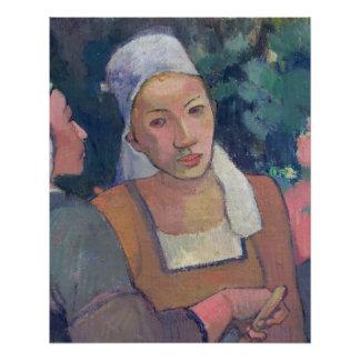 Breton Peasants, 1894 (oil on canvas)