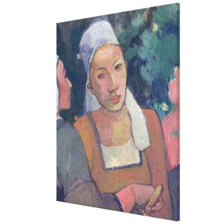 Breton Peasants, 1894 (oil on canvas) Gallery Wrap Canvas