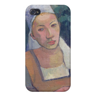 Breton Peasants, 1894 (oil on canvas) iPhone 4/4S Cover