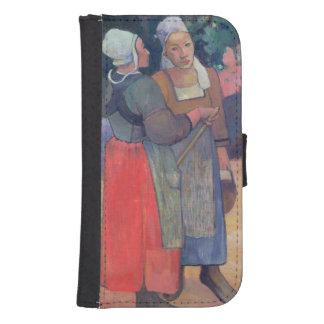 Breton Peasants, 1894 Samsung S4 Wallet Case