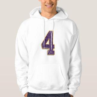 Brett Favre custom Vikings #4 Hooded Sweatshirt