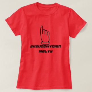breuddwydion melys - sweet dream T-Shirt