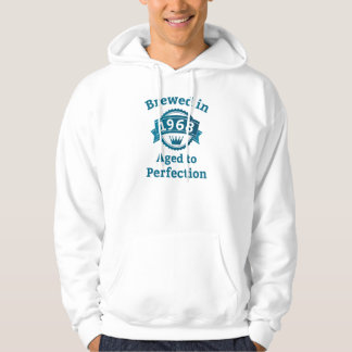 Brewed in 1968 Aged to Perfection Hoodie