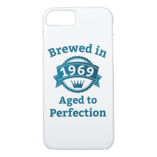 Brewed in 1969 Aged to Perfection iPhone 8/7 Case