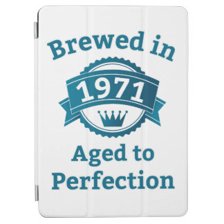 Brewed in 1971 Aged to Perfection iPad Air Cover