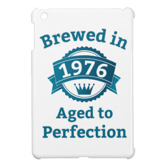 Brewed in 1976 Aged to Perfection iPad Mini Case