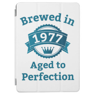 Brewed in 1977 Aged to Perfection iPad Air Cover