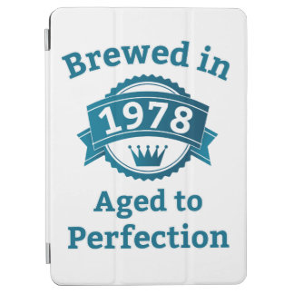 Brewed in 1978 Aged to Perfection iPad Air Cover