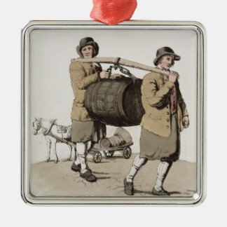 Brewers, from 'Costume of Great Britain' published Christmas Ornaments