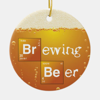 Brewing Beer Christmas Ornament