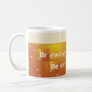 Brewing Beer Coffee Mug
