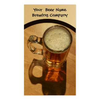 Brewing Company, Bar, U-Brew Pack Of Standard Business Cards