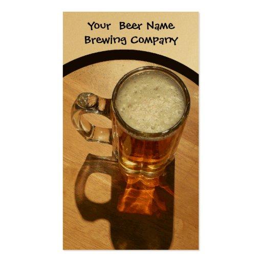 Brewing Company, Bar, U-Brew Business Cards