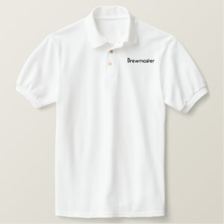 Brewmaster Embroidered Polo Shirts