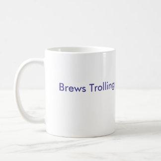 Brews Trolling Troll face Basic White Mug